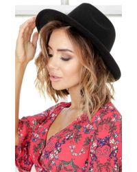 Showpo   Have You Heard Hat In Black   Lyst