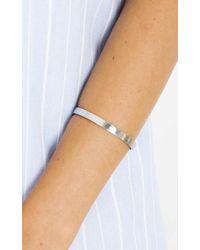 Showpo - All Hands On Deck Cuff In Silver - Lyst