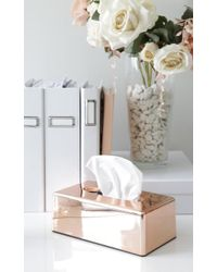 Showpo - Bless You Tissue Box Case In Rose Gold - Lyst