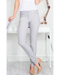 Showpo - Best Foot Forward Pants In Grey - Lyst