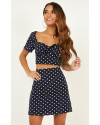 Showpo - Right By My Side Two Piece Set - Lyst
