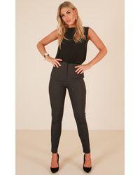 aece2520693 Showpo pants navy navy pants pants Work Outfits Work t