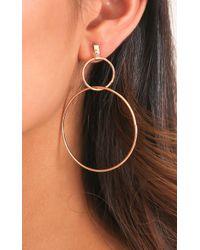 Showpo - You Deserve It Earrings In Gold - Lyst
