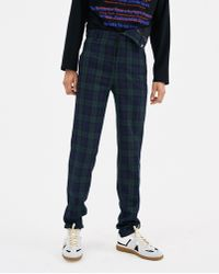 Y. Project - Checked Asymmetric Waist Trousers - Lyst