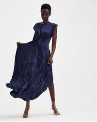 Ovelia Transtoto - Ringed Dress - Lyst