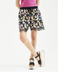 Ashish - Pink And Black Sequin Star Moon Tank Shorts - Lyst