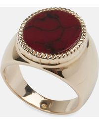 O Thongthai | Gold Signet Ring | Lyst