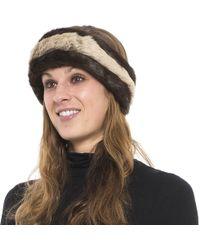 Parkhurst - Reversible Faux-fur Headband (for Women) - Lyst