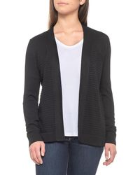 Cable & Gauge - Mixed-stitch Duster Cardigan Sweater - Lyst