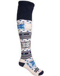 Smartwool - Fiesta Flurry Knee-high Socks - Lyst