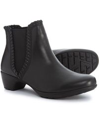 Romika Banja 16 Ankle Boots- Leather - Black