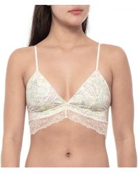 d5f012c1bb3ff Free People - Phoebe Printed Bralette (for Women) - Lyst