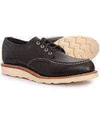 Chippewa - Leather Moc Toe Oxford Shoes - Lyst