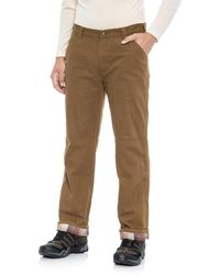 Coleman - Flannel-lined Pants (for Men) - Lyst