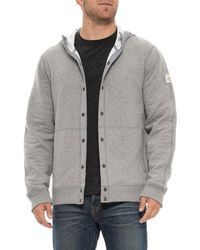 The North Face - Re-source Snap Hoodie (for Men) - Lyst