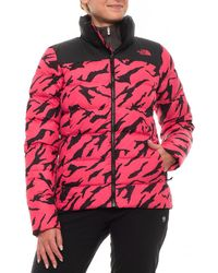 af7a93e0c807 Lyst - The North Face Nuptse Down Jacket in Red