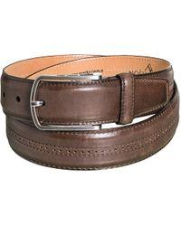 Lejon - Embossed Leather Belt (for Men) - Lyst