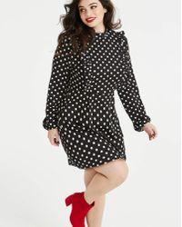 AX Paris - Curve Polka Dot Dress - Lyst