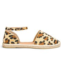 b78a9940e Simply Be Polly Two Way Sequin Espadrille Wide Fit in Blue - Lyst