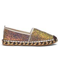 Glamorous - Glitter Espadrille D Fit - Lyst