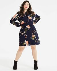 AX Paris - Curve Crochet Floral Dress - Lyst