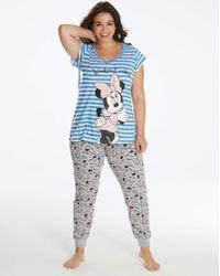 Disney - Minnie Mouse Legging Pyjama Set - Lyst