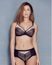 Berlei - Beauty Style Wired Black Bra - Lyst