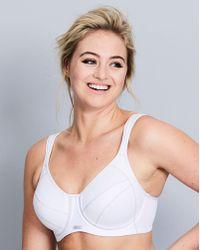 Berlei - Full Support White Sports Bra - Lyst