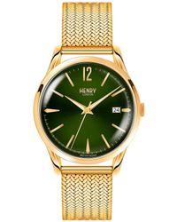 Henry London - Ladies 39mm Chiswick Stainless Steel Bracelet Watch - Lyst