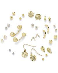 Simply Be - 16 Piece Multi Pack Of Earrings - Lyst