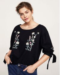 Violeta by Mango - Embroidered Top - Lyst