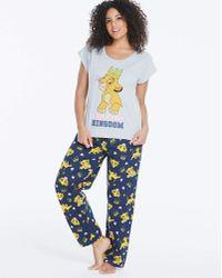 Disney - Lion King Pyjama Set - Lyst