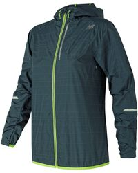 New Balance - Packable Reflector Jacket - Lyst