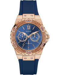 Guess - Ladies Limelight Silicone Watch - Lyst
