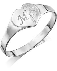 Simply Be - Personalised Child's Signet Ring - Lyst