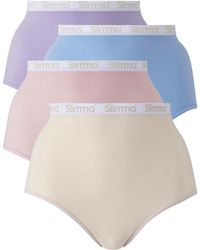 Simply Be - Pk4 Slimma Panties - Lyst