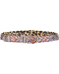 Simply Be - Reversible Plaited Jeans Belt - Lyst