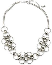 Simply Be - Ball & Link Necklace - Lyst