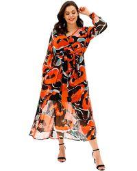 377eedd2746 Simply Be Joanna Hope Beaded Maxi Dress - Lyst