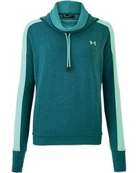 Under Armour - Featherweight Fleece Top - Lyst