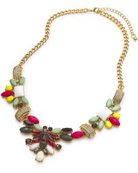 Simply Be - Jeweled Necklace - Lyst