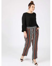 Aristoc - Lovedrobe Gb Striped Crepe Trousers - Lyst