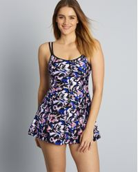 Simply Be - Magisculpt The 'flatter Me' Swimdress - Firm Control Level 3 - Lyst