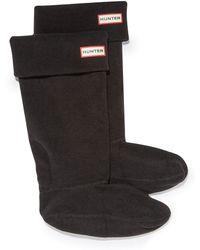 HUNTER - Boot Sock - Lyst
