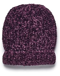 Simply Be - Chenille Hat - Lyst