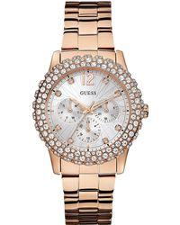 Guess - Ladies Dazzler Bracelet Watch - Lyst