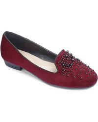 Simply Be - Sole Diva Jeweled Flats - Lyst