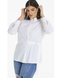 Simply Be - D Ring Detail Shirt - Lyst