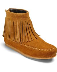 Simply Be - Sole Diva Fringed Ankle Boots - Lyst