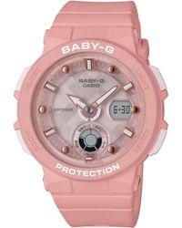 G-Shock - Baby G Ladies Pink Watch - Lyst